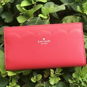 Kate Spade Braylon Magnolia Street Leather Wallet